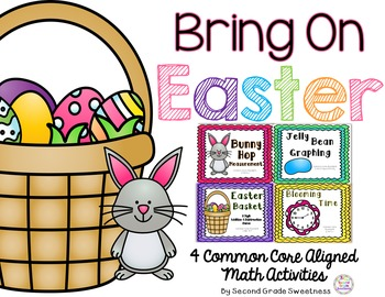 Spring Math Activities: Measurement, Graphing, Time, Addition and Subtraction