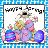 Spring / Easter Math / Addition & Subtraction / Color by Number