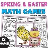 Easter Spring Math Games: 3rd  Grade