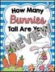 Easter / Spring Measuring --- Bunny Measuring Palooza Math Centers
