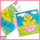 Easter / Spring Multiplication: Color By Number - FREE