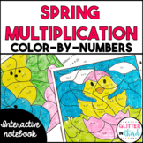 Easter Spring Math Multiplication Activities FREE