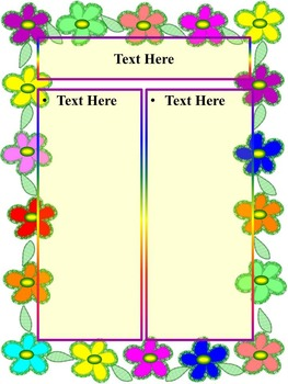 Spring Activitie - Mystery Picture - Math -  Editable templates