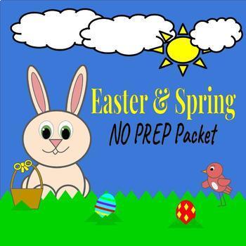 Easter & Spring No Prep Packet