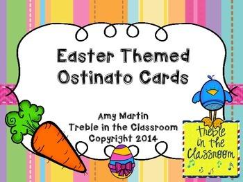 Easter Spring Ostinato Cards