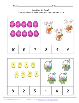Easter Spring Preschool Pack- 48 PAGES!