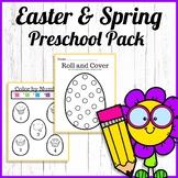 Easter & Spring Preschool Centers (freebie)