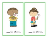 Easter Spring Pronoun Cards