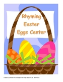 Easter Spring Rhyming Eggs