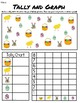 Easter & Spring Tally and Graph