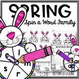 Spring CVC Games for Short Vowel Fluency