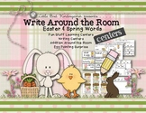 Easter & Spring Words Write Around the Room & Fun Stuff Le