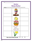 Easter - Stamp first and last sound Worksheet