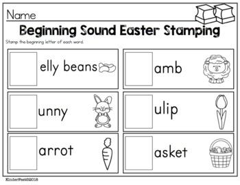 Easter Stamping Fun FREEBIE!