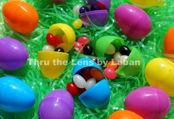 Easter Eggs and Jelly Beans Stock Photo #66