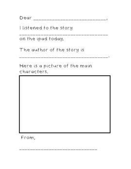 Easter Stories for the Listening Center with QR Codes