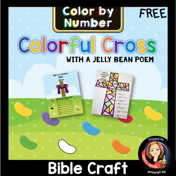 Easter Story Activity with Jelly Bean Poem