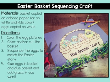 Easter Story Bible Unit