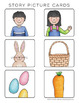 Easter Story Cards | Easter Writing Activities (Secular theme)