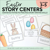 Easter Story Card Centers | Easter Writing Activities | Wr