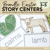 Easter Story Card Writing Centers | Easter Writing Activities BUNDLE