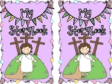 Easter Story Coloring Book with Bible Verse