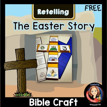 Easter Story Craft Interactive Notebook Activity