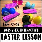 Easter Story Lesson, Luke 22-24