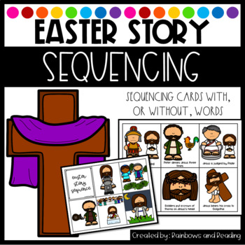 Easter Story Sequencing