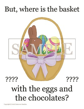 Easter Story using prepositions that students can read, draw and re-create