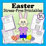 Easter NO PREP Printables - First Grade Common Core