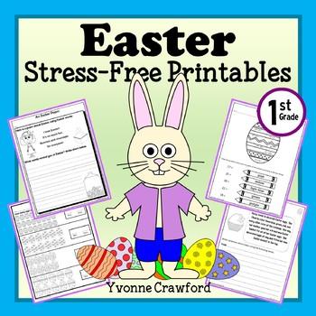 Easter NO PREP Printables - First Grade Common Core