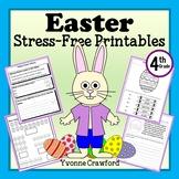 Easter NO PREP Printables - Fourth Grade Common Core