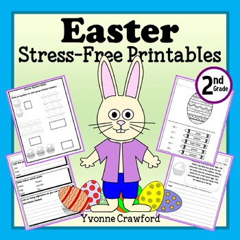 Easter NO PREP Printables - Second Grade Common Core