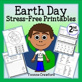 Earth Day NO PREP Printables - Second Grade Common Core