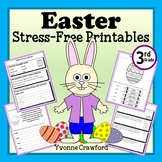Easter NO PREP Printables - Third Grade Common Core