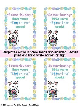 Easter student gift tags 8 editable designs tpt easter student gift tags 8 editable designs negle Choice Image