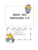 Easter Subtraction 5-0