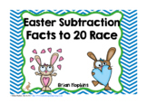 Easter Subtraction Facts To 20