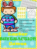 Easter Subtraction Games