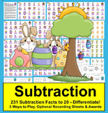 Easter Math Subtraction