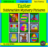 Easter Subtraction Mystery Pictures