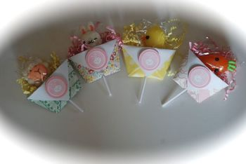 Easter Suckers--student gift idea! (Class Set of 24)