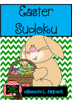 Easter Sudoku Puzzle Bundle