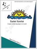 """Easter Sunrise"" Recorder Music with Fun Background Track"