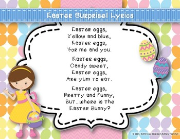 Easter Surprise! Original Song to Practice Do and Orff Accompaniment