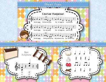 Easter Surprise! Original Song to Practice Re (Pentatonic), Orff Accompaniment