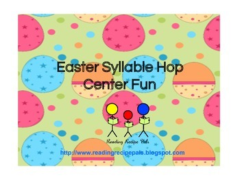 Easter Syllable Hop