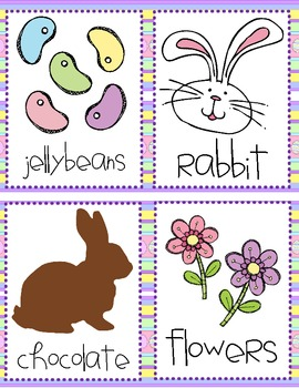Easter Syllable Sort (1, 2 and 3 Syllables)