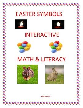 Easter Symbols Interactive Math & Literacy